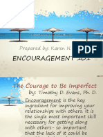 Encouragement 101 Per Dev