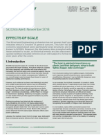 Scoss alert  - effects of scale