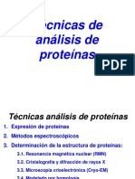 Técnicas de análisis de proteínas