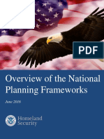 Overview of National Planning Frameworks