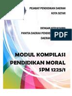 MODUL 1225 SPM 2018