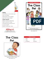 The Class Pet