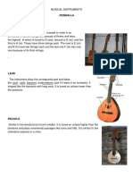 Musical Instruments Rondalla