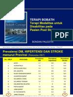SEMARANG 12 Maret 2017 _ terapi modalitas untuk disability pada pasien stroke dan post stroke.pptx