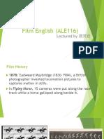 W2(9.20)Preclassical Film History