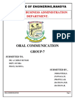 Oral Communication World