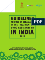 Guidelines for Use of Delamanid for Treatment of DR TB in India Dr Pk Whats