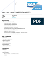 Sap Hana Cloud Platform Hcp