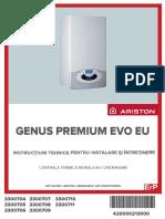 Manual de Instalare Ariston Genus Premium EU