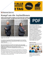 (Kt. Bern) – Die «Asylmillionen», Abstimmung vom 25.11.2018