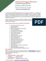 International Journal of Computer Networks & Communications (IJCNC)
