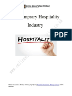 Importance of Hospitality Sector in the Society