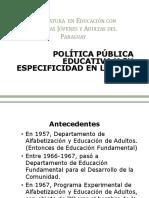 Política Pública EPJA