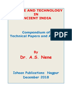 Science and Technology in Ancient India by Nene