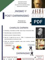 Darwinismo y Potdarwinismo