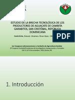 Conferencia Técnica de Felix Rondon