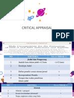 Critical Appraisal Jurnal