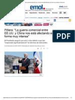 News piñera
