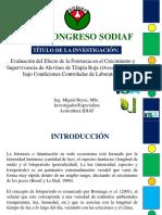 Conferencia Técnica de Miguel Reyes