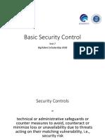 Basic Security Control