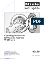 Miele Softtronic W 487 WPS