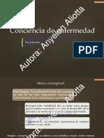 PDF Conciencia de Enfermedad