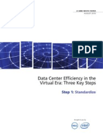 AST-0006166 IW - Data Center Efficiency- Step 1 - Standardize