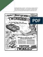 MKT101 Twinkie Advert