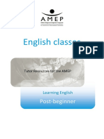 1.Post Beginner Learn English English Classes