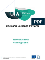 UIA Technical Guidance EEP