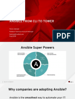 Ansible From CLI to TOWER