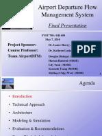 Airport Departure Flow Management System