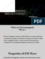Electromegnatic Wave & It's Effect