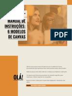 Manual de instruções - 6 modelos CANVAS SEBRAE