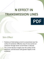 Skin Effect in Transmission Lines