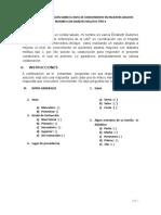 Esquema de Informe de Investigación Formativa Monográfica