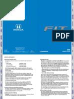 Honda Fit Manual