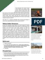 Bioenergi - Wikipedia Bahasa Indonesia, Ensiklopedia Bebas