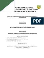 Modelo de Proyecto de Extensión