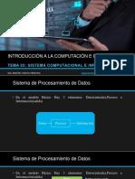 Tema 03 Sistema Computacional e Informático