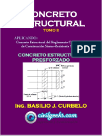 Libro de Concreto Estructural Presforzado TOMO II [Ing. Basilio J. Curbelo].pdf