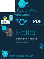 Golang, Python or C/C++, who wins?