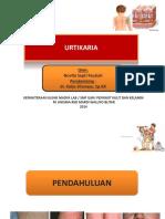 PPT URTIKARIA MANTAP 2.ppt