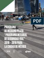 PROGRAMA INTEGRAL DE SEGURIDAD VIAL  Visión Cero