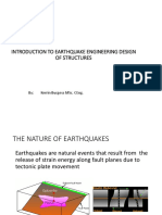 Lecture 6 - Introduction to Earthquake Engineering Design of Buildings