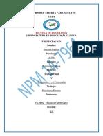 Practica de Psicologia Clinica I