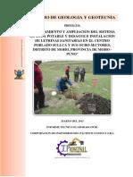 Estudio de Geologia Ultimo Sullca