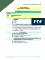 BP Mantenimiento Mecánico I