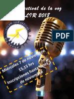 1° Festival de la voz