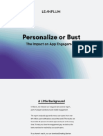 Leanplum - Personalize or Bust the Impact on App Engagement (Full Report)